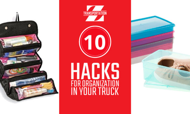 10 Hacks for Organization in Your Truck