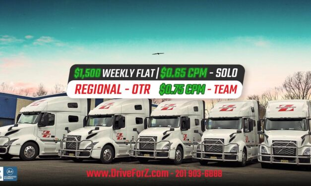 Z Transportation Offering The Highest Pay Rates in The Industry