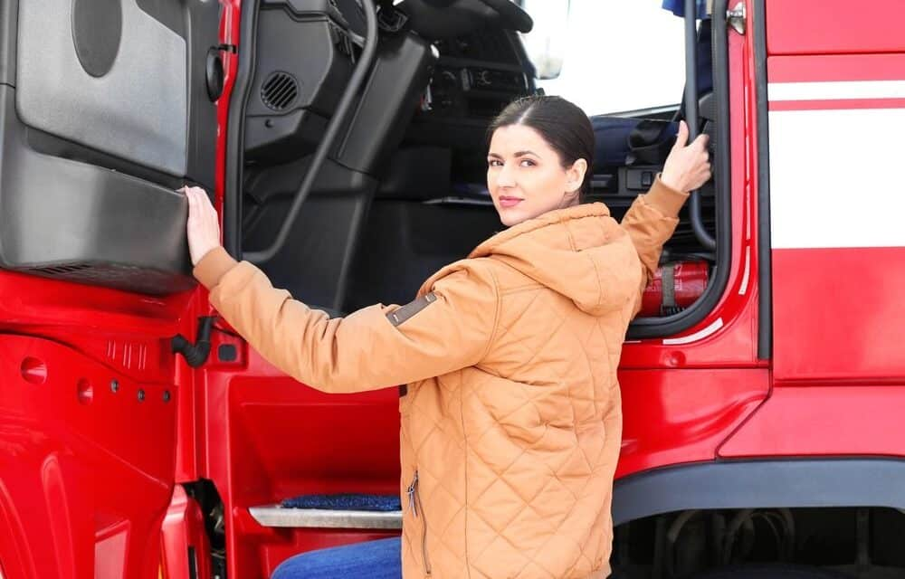 Women are now more interested in driving trucks, but why?