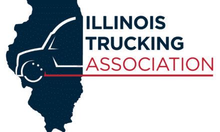 """""""Our drivers should be able to get vaccinated now,"""" says the Illinois Trucking Association."""