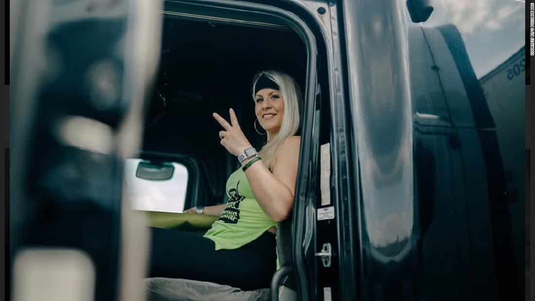 Candace Rivers is the owner of a fitness company that assists truckers in staying fit and avoiding common health problems.